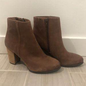 Vionic Brown Leather Boots
